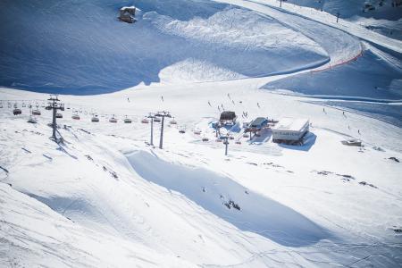 在奥地利的滑雪胜地