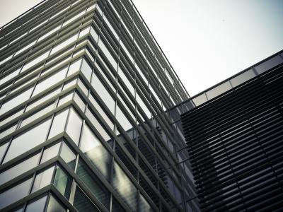 现代建筑窗户