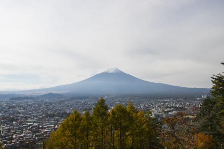 富士和Fujiyoshida免费图片