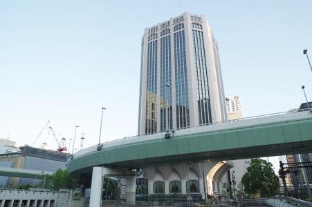 高层建筑和高速公路(大阪)免费图片