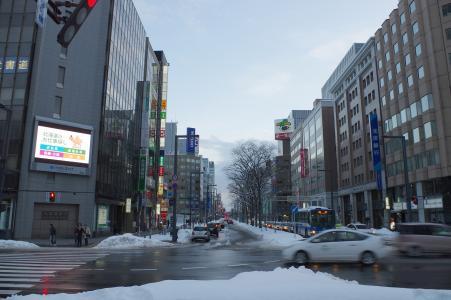 札幌站免费股票照片