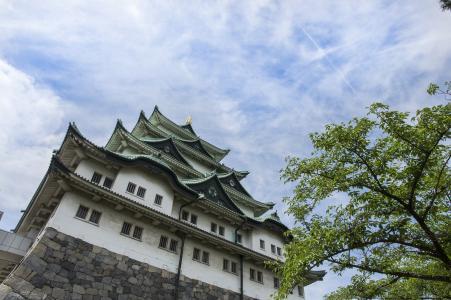 名古屋城堡城堡塔免费图片
