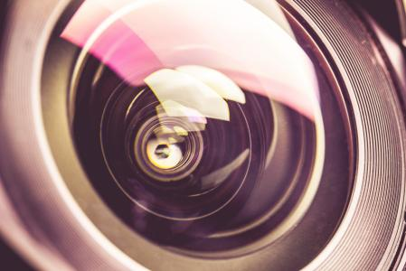 Dreamy & Colorful DSLR Lens Close Up