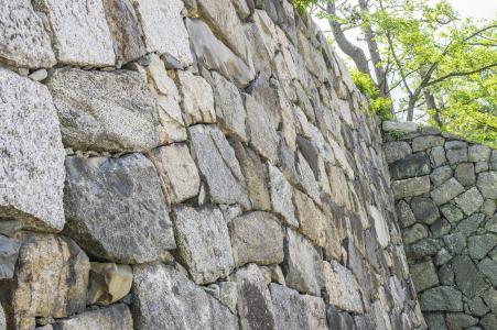 在名古屋城堡的石垣免费照片