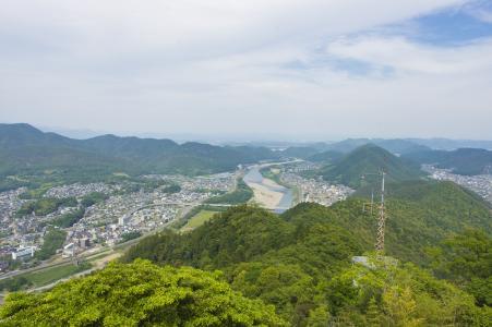 岐阜风景从岐阜城堡Tenshin免费图片