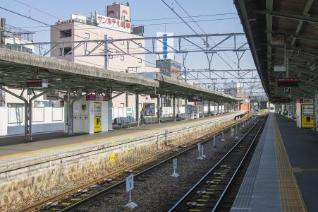 Meitetsu Gifu Station Home免费库存照片