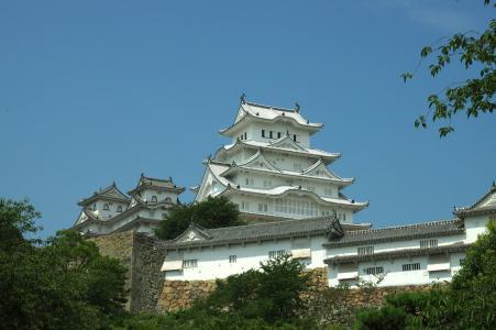 姬路城堡塔的城堡塔
