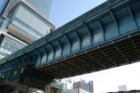 银座线涩谷站免费库存照片