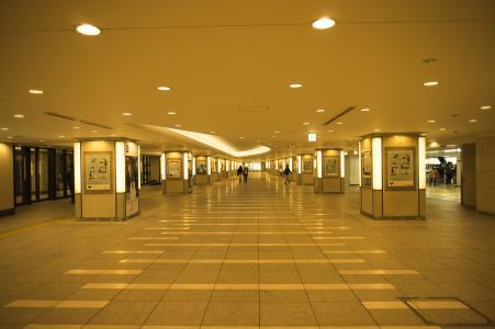 东京站丸之内线附近没有地下通道