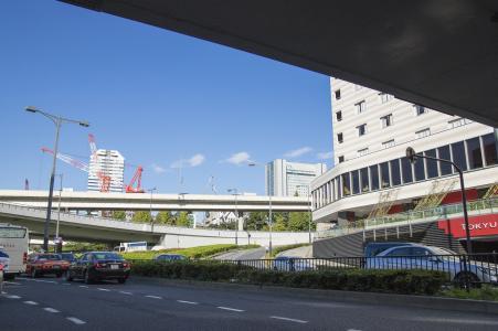 Shinjuku Koshu Kaido免费库存照片