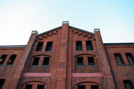 横滨红砖仓库免费库存照片
