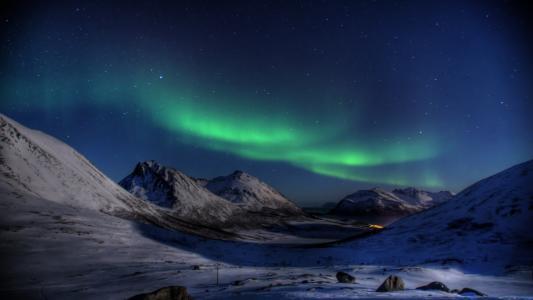 绚烂的北极光